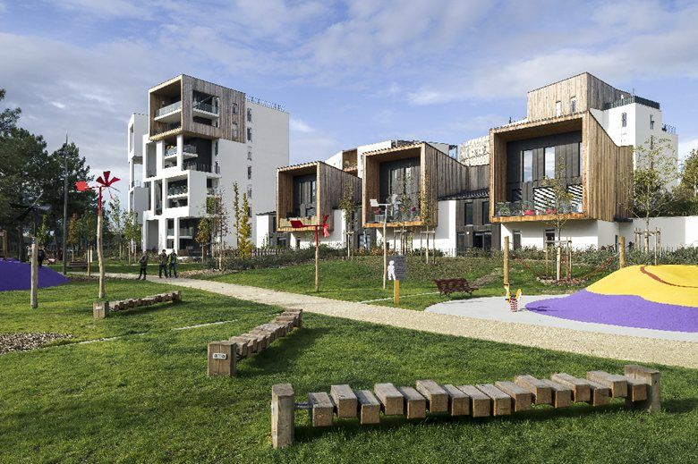 Eco quartier ginko bouygues immobilier bordeaux 2015 for Immobilier bordeaux centre
