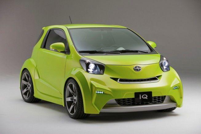 Scion Iq Concept Scion Cars And Wheels
