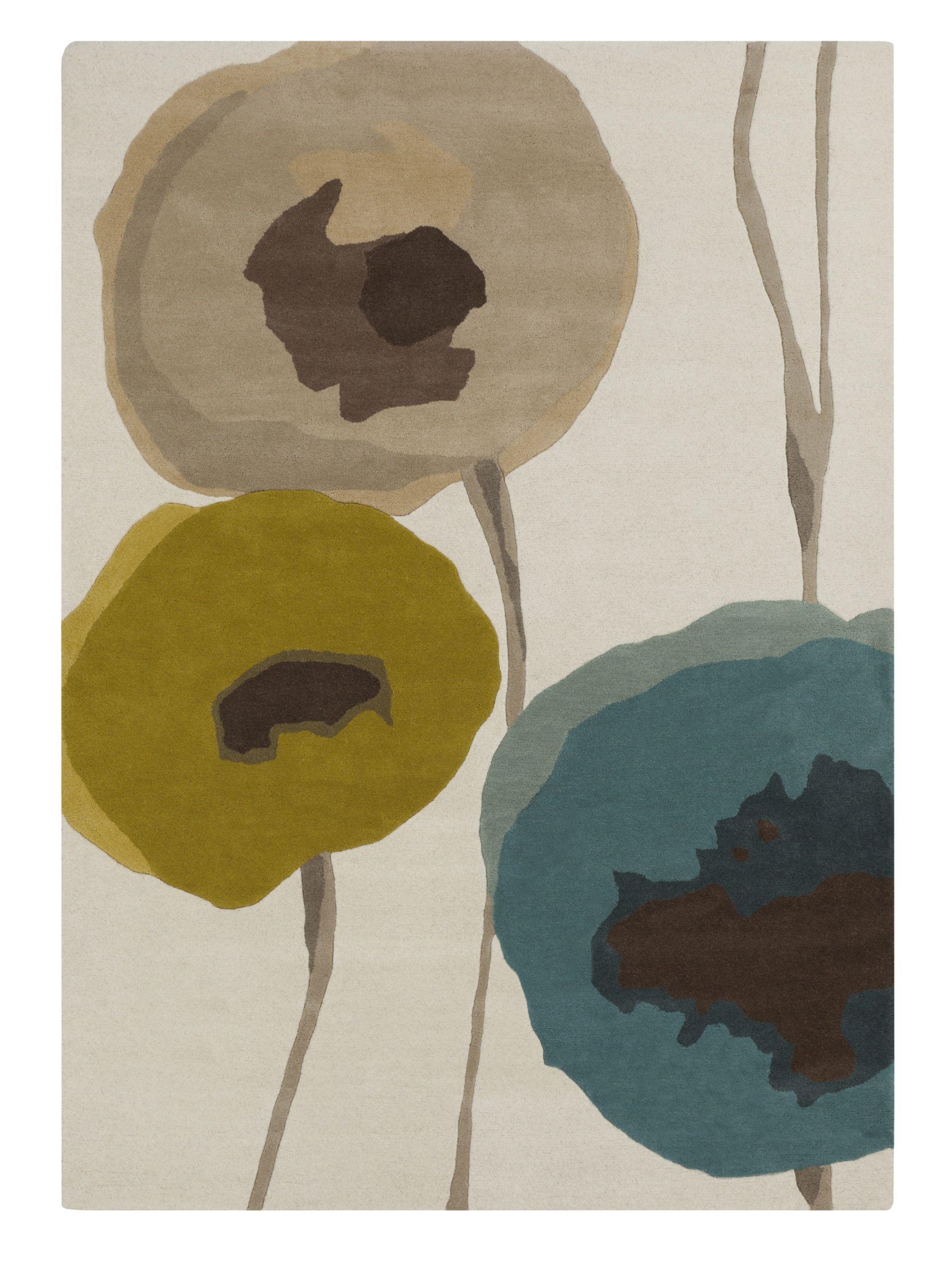 Surya Sanderson Rug, Taupe/Olive/Teal, 2' x 3' at MYHABIT