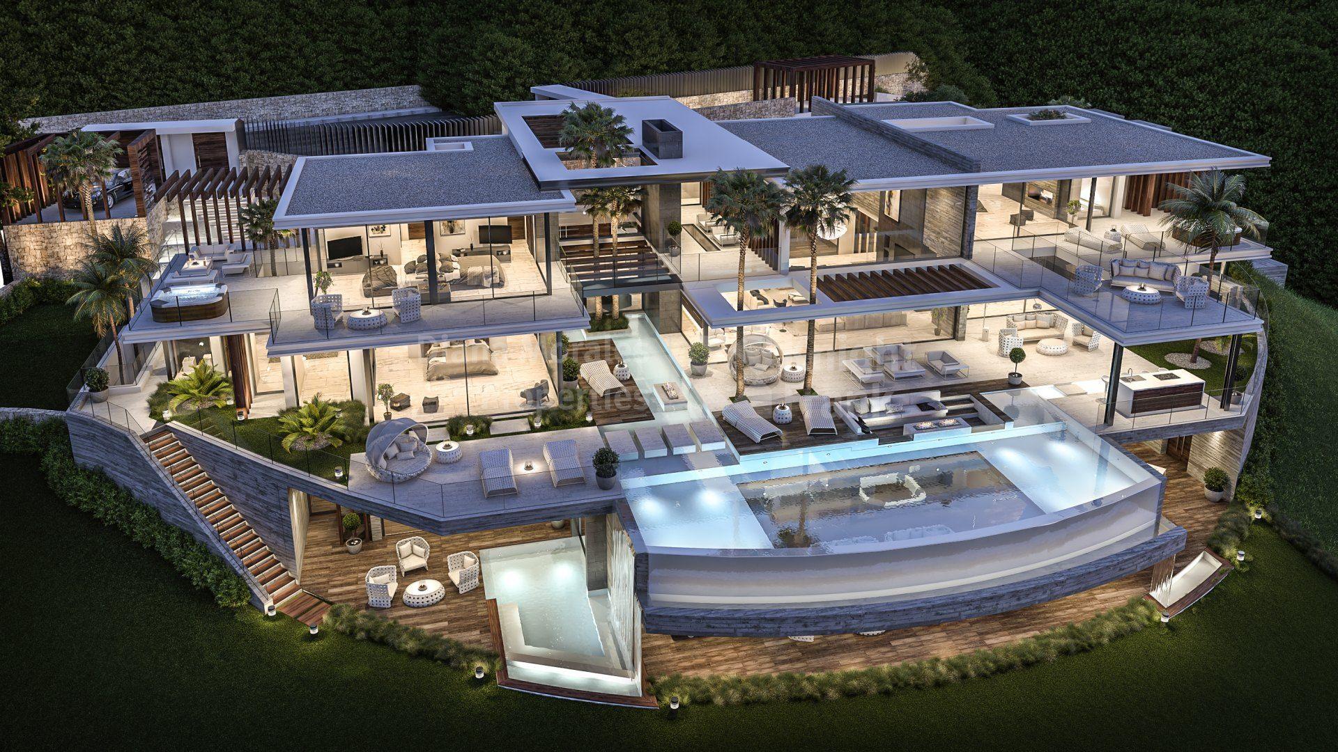 Turn Key Project In La Zagaleta Villa For Sale In La Zagaleta