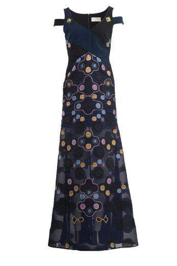 PETER PILOTTO Peter Pilotto Long Dress With Embroidery. #peterpilotto #cloth #dresses