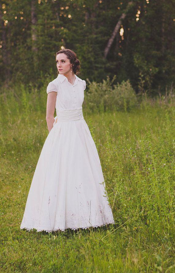 a88a9343dfa3 Fairy Tale 2 Piece Ball Gown Wedding Dress, Country Wedding Dress ...