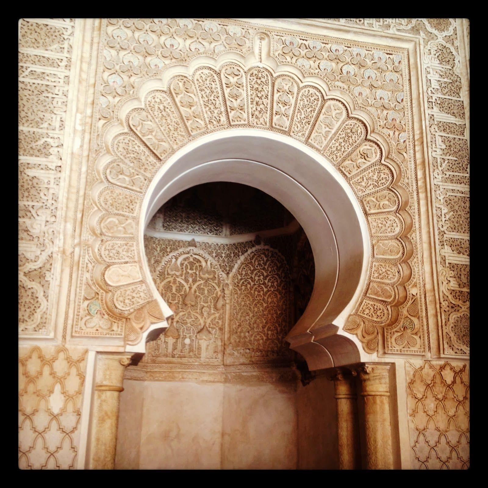 horseshoe arch | Islamic Art | Pinterest