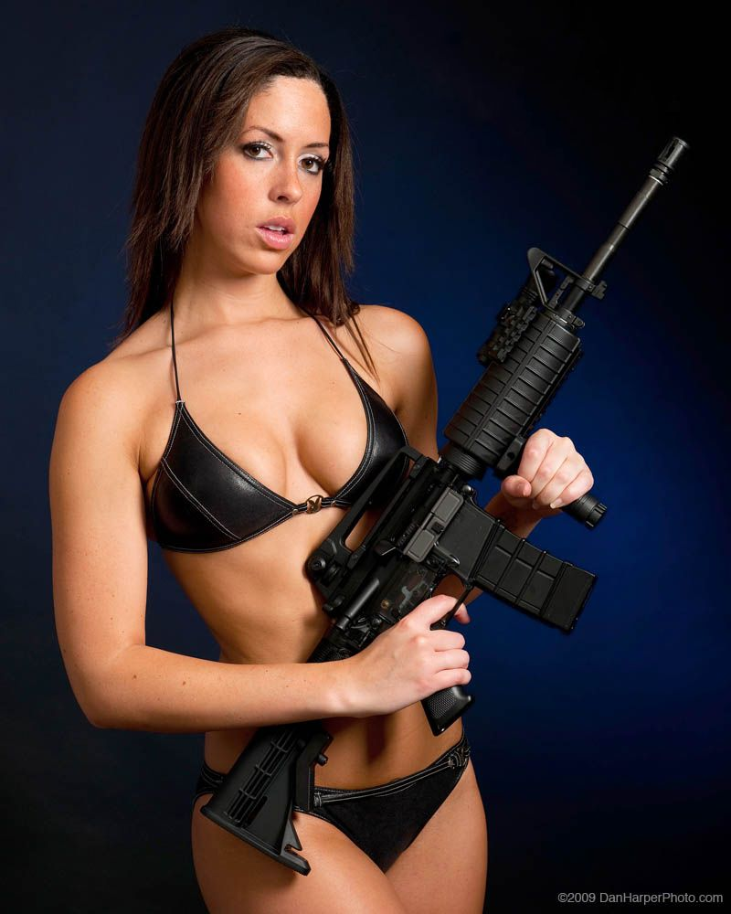 from Azariah nude girls with airsoft guns