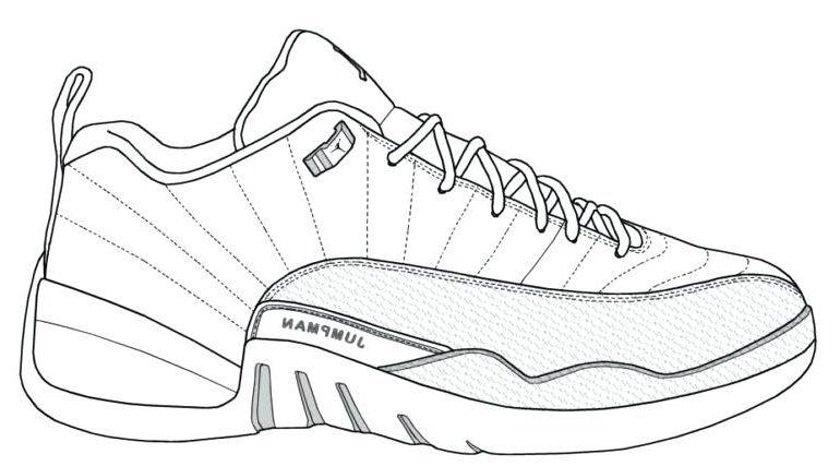 Coloring Jordan Shoes