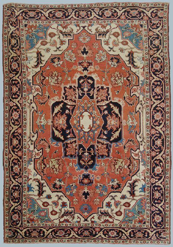 KARADJEH 2x31050 Motivi floreali, Motivo geometrico