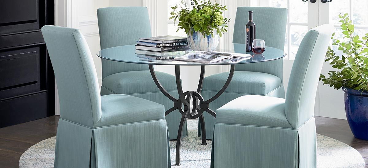 Dining Room Contemporary Table, Bassett Furniture Louisville