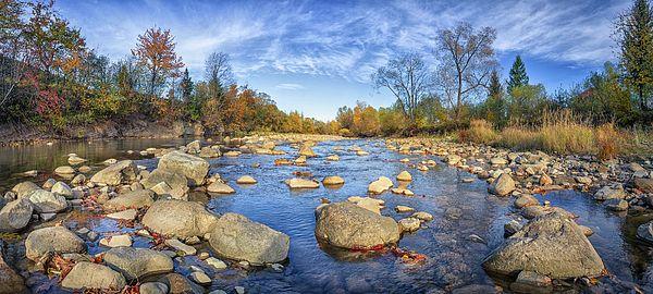 Mountain River Panorama By Serhii Kucher Panorama Photography Fine Art America Photography Panorama
