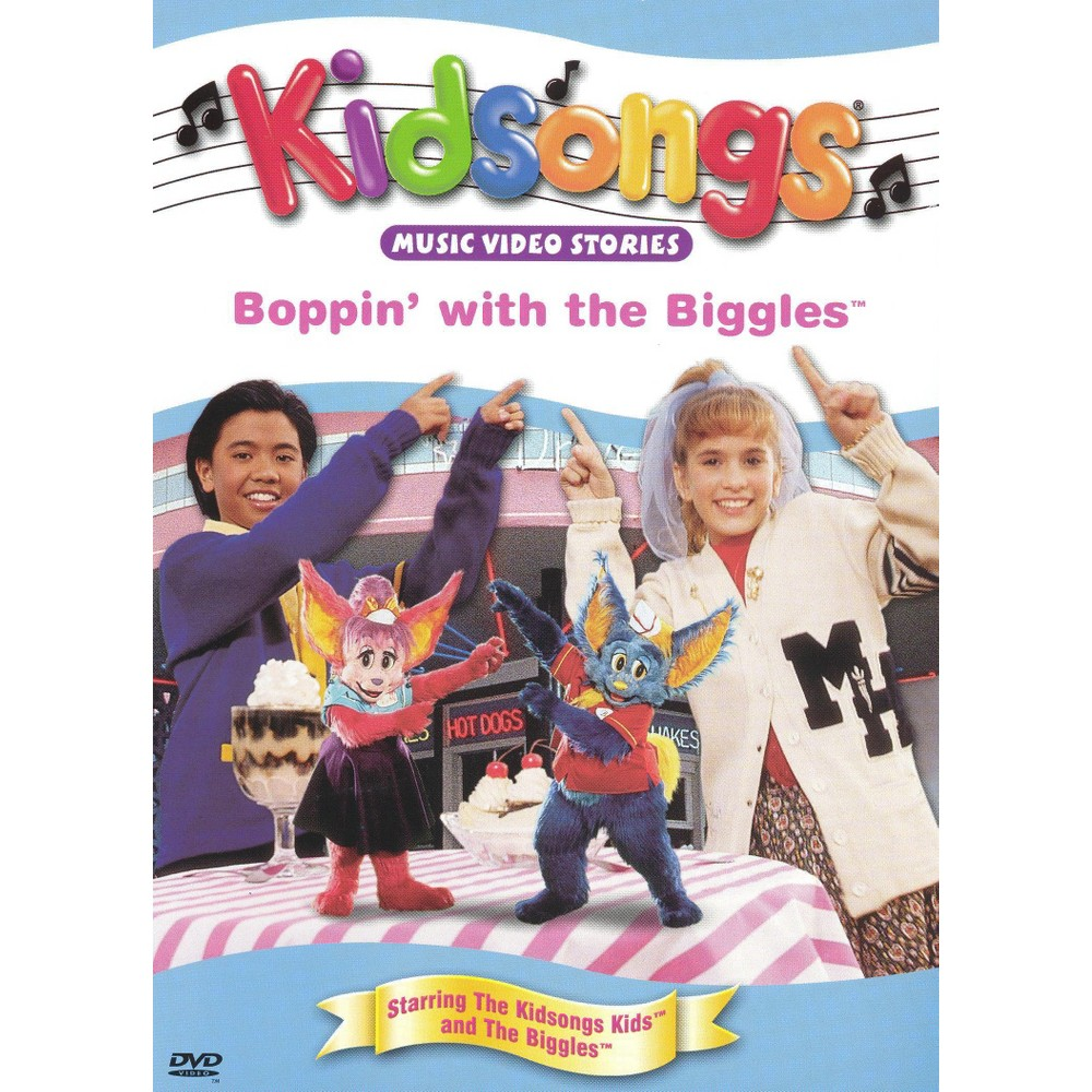 kidsongs boppin u0027 with the biggles kidsongs dvd video products