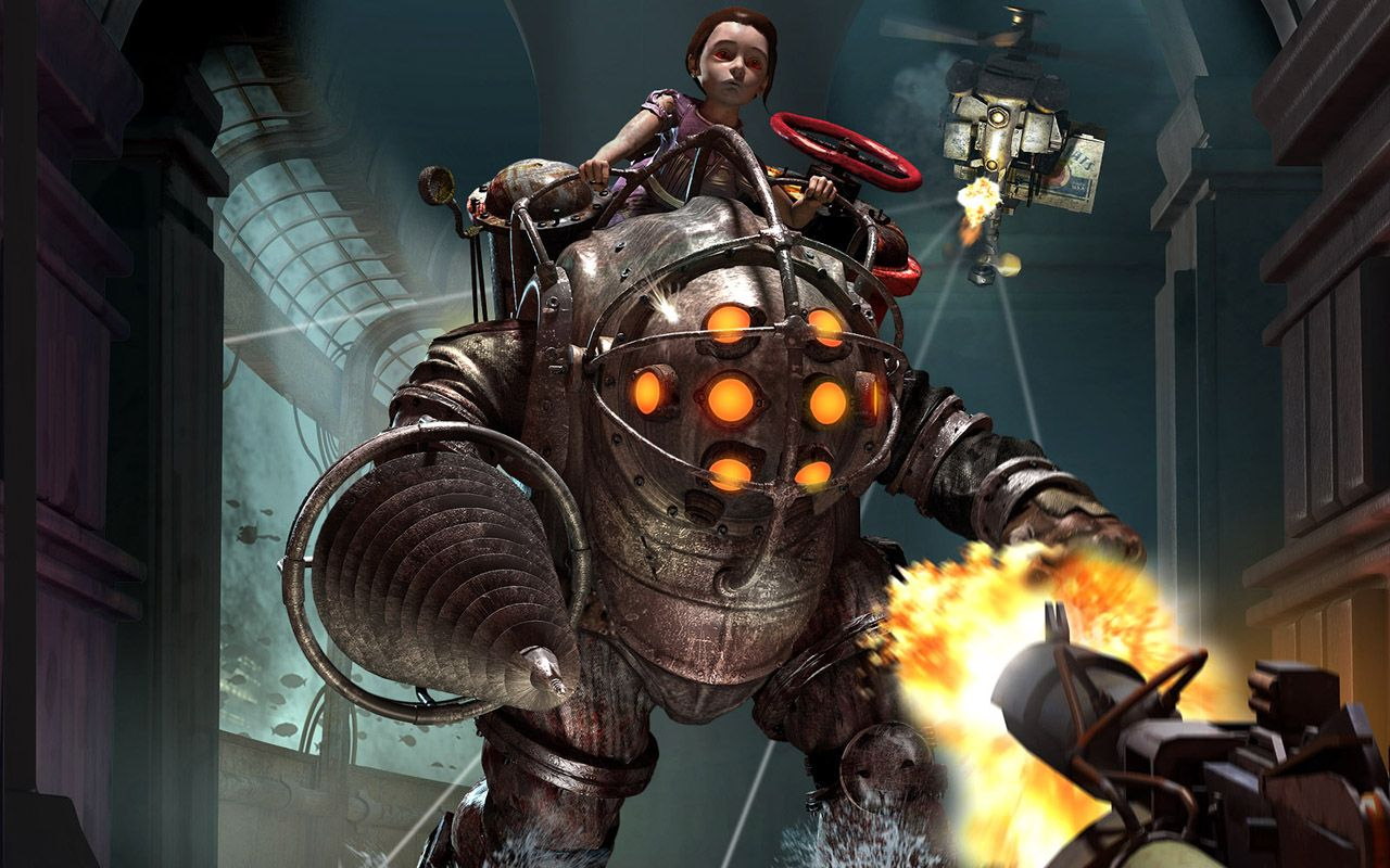 Big Daddy Bioshock Wallpaper Hd With Images Bioshock Bioshock Game Bioshock Collection