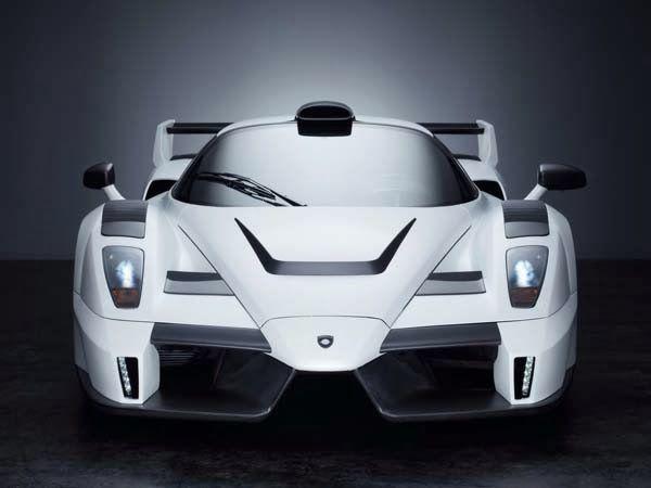 Foto Mobil Keren Ferrari Kenzo White Front View With Images