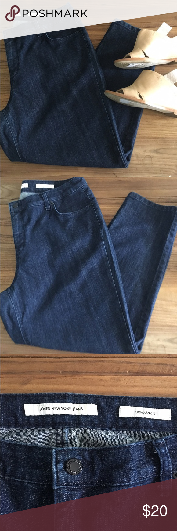 Final Sale Euc Jones New York Soho Ankle Jeans Ankle Jeans Jones New York New York Soho