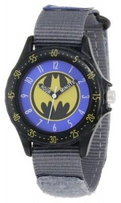 330b32376f5 Relógio Infantil Batman Kids  BAT5039 Grey Batman Time Teacher Watch   Relógio  Infantil Batman