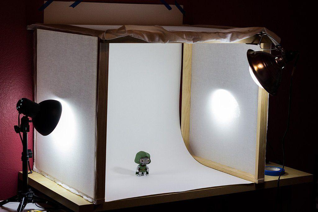 Photo studio, Mini photo studio, Diy photography