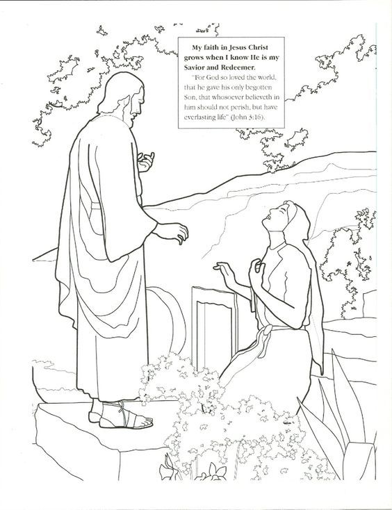Primary 3 Easter Lesson 46: ideas for Easter lesson   Boy coloring ...