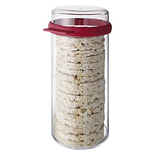 Exceptional Round Airtight Rice Cracker Keeper Storage Container   1.9L Alt Image 1