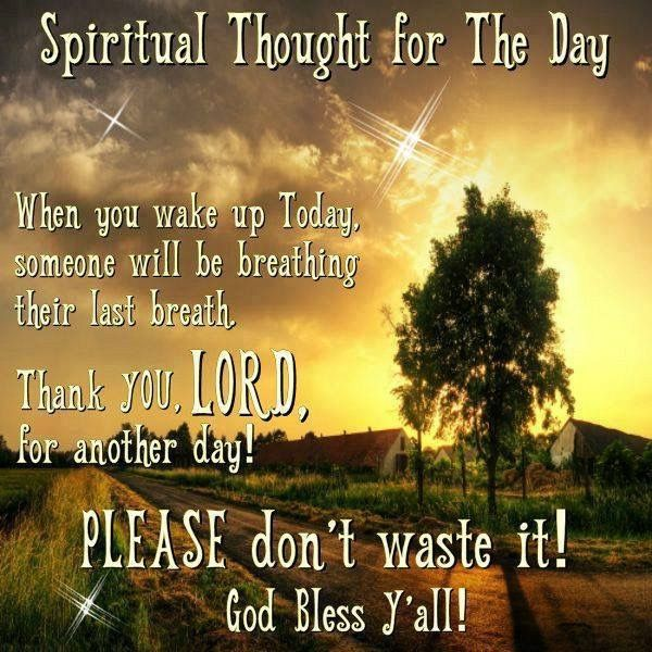 Spiritual Thought For The Day Christian Quoes Spiritual