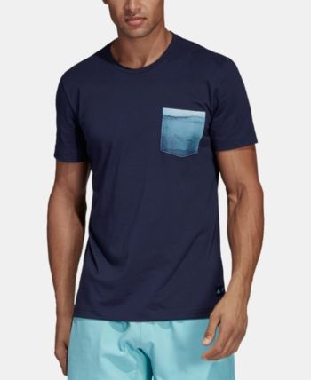 0a5b5ad0902 adidas Men's Parley ClimaLite Pocket T-Shirt - White 2XL in 2019 ...