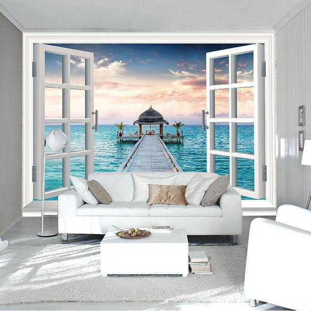 Wall Mural Ocean Photo Wallpaper