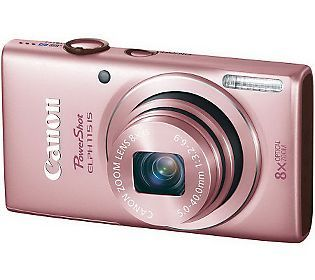 Canon PowerShot ELPH 115 16MP, 8x Optical ZoomDigital Camera $199.96