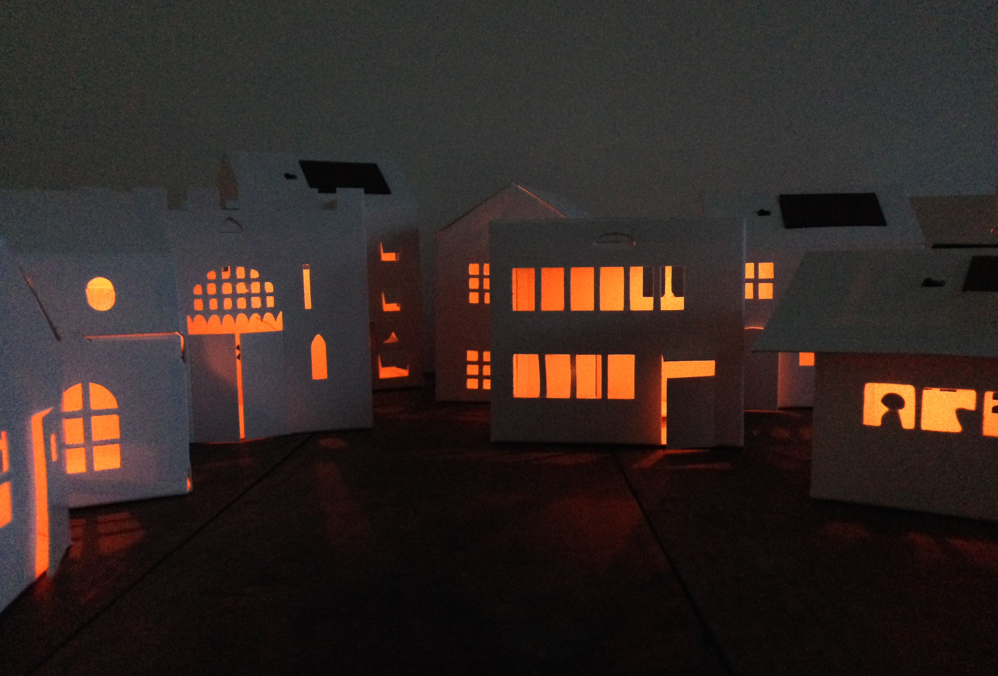 Night lights designs -  Litogami Designs Customizable Paper Night Lights Powered By Solar Energy Learn
