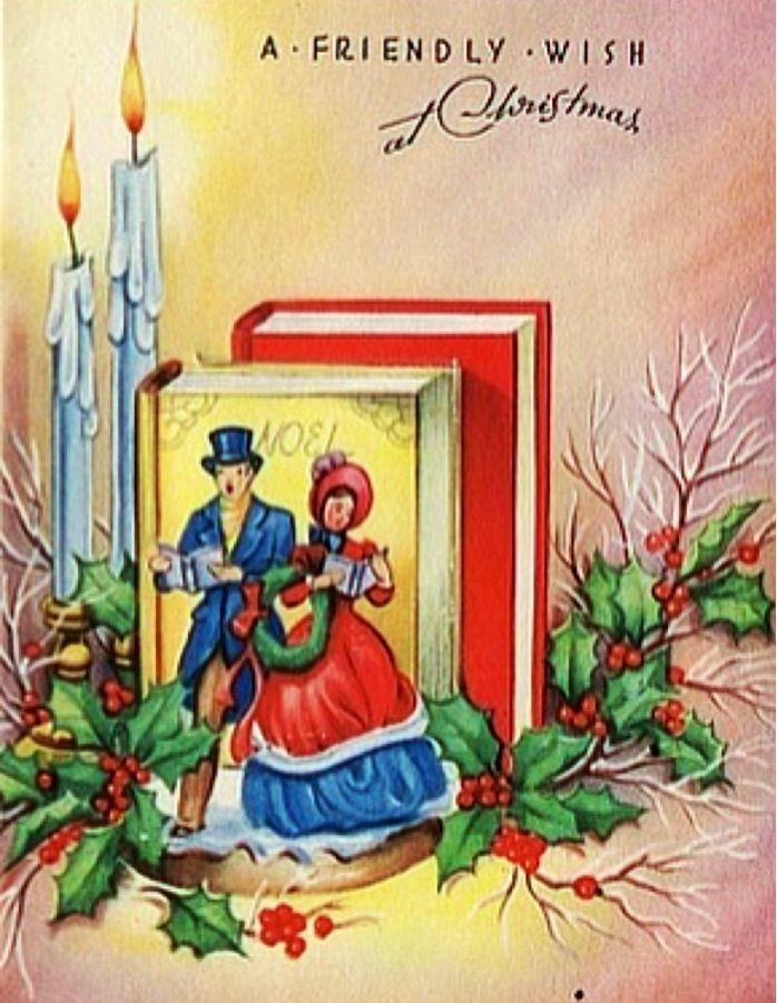 Friendly wish at Christmas.