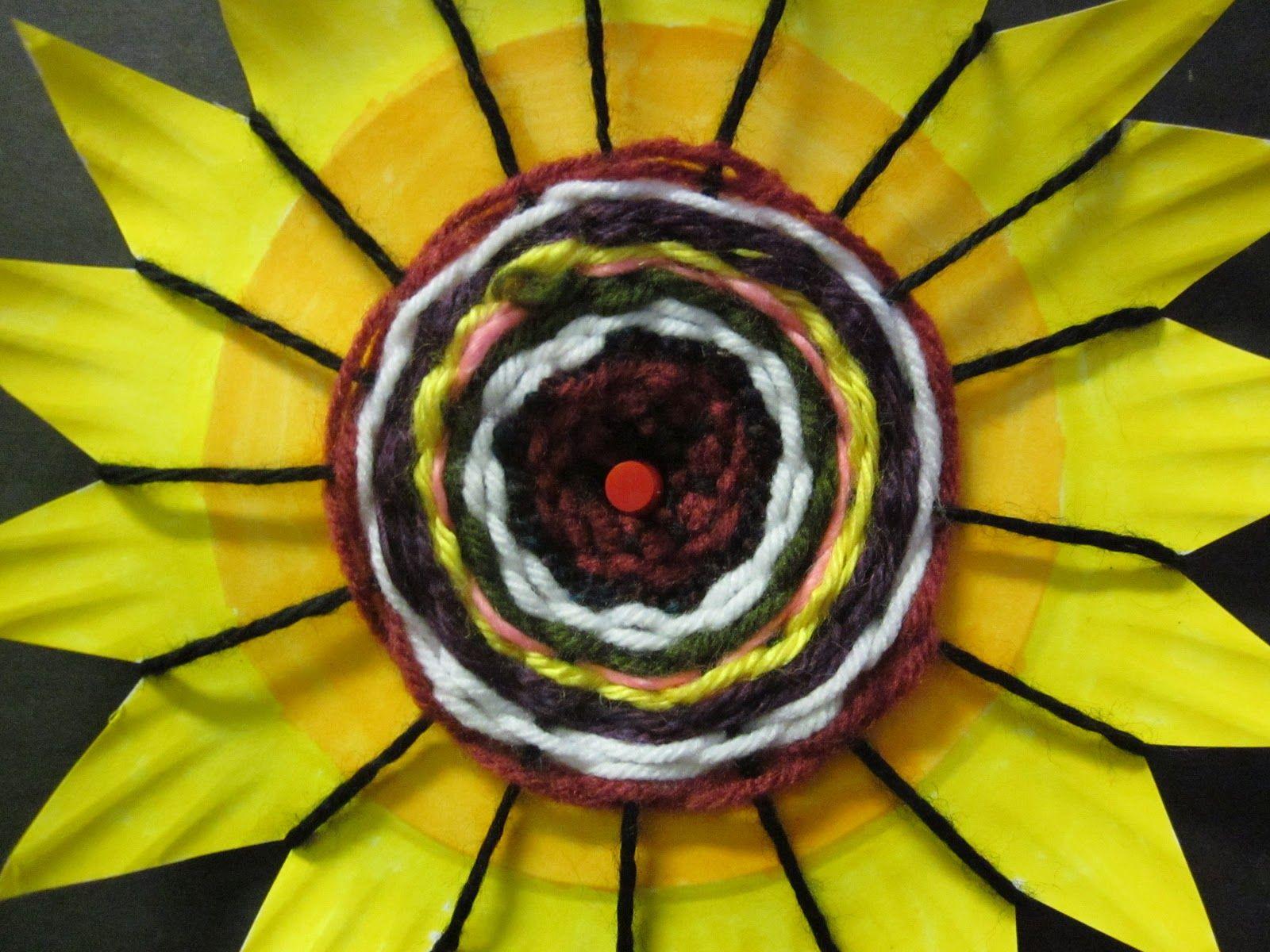 Time for Art! WEAVING PAPER PLATES & Time for Art!: WEAVING PAPER PLATES | Weaving Things | Pinterest ...