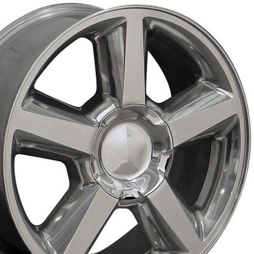 20-Inch Fits Chevrolet - Tahoe Aftermarket Wheel - Polished 20X8.5, 2015 Amazon Top Rated Car #AutomotivePartsandAccessories