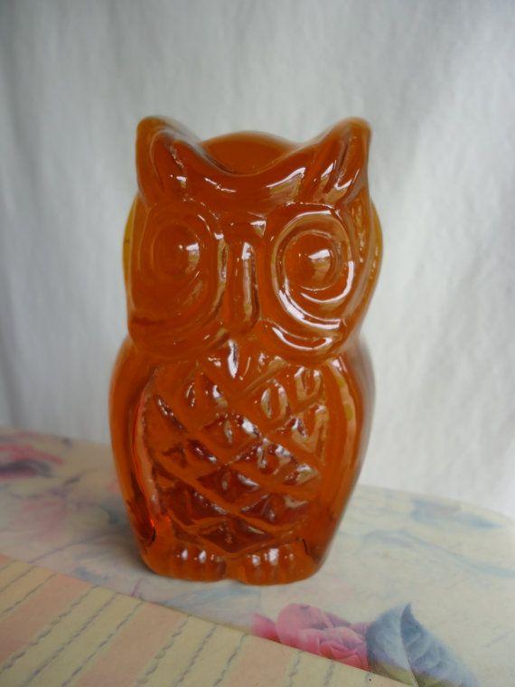 Ceramic Owl Figurine On Fence Collectible Miniature Bird Animals Theme Brown