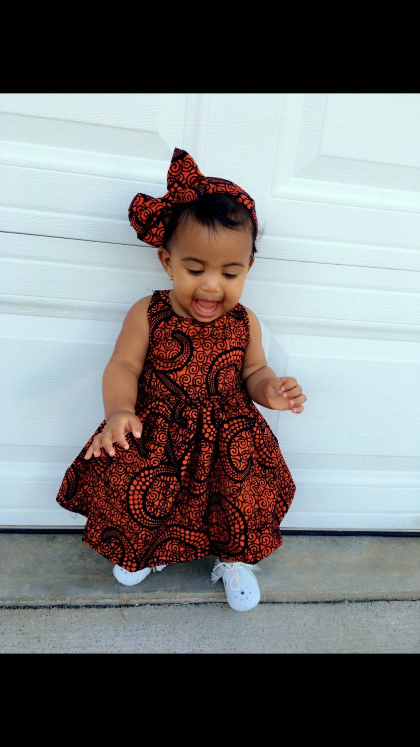 98d9190582705 Baby girl dress en 2019 | African fashion | Robe africaine pour ...
