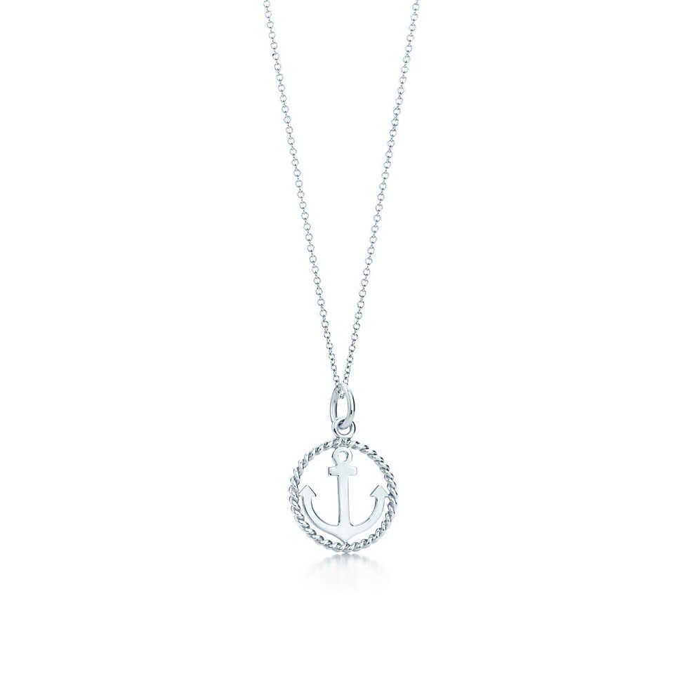 Tiffany Twist heart charm in sterling silver, medium Tiffany & Co.