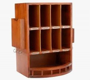 Internal Wooden Mail Slots For Home | ... The Wooden Mail Organizer Is A  Handmade 100 % Solid Pine Wood Product