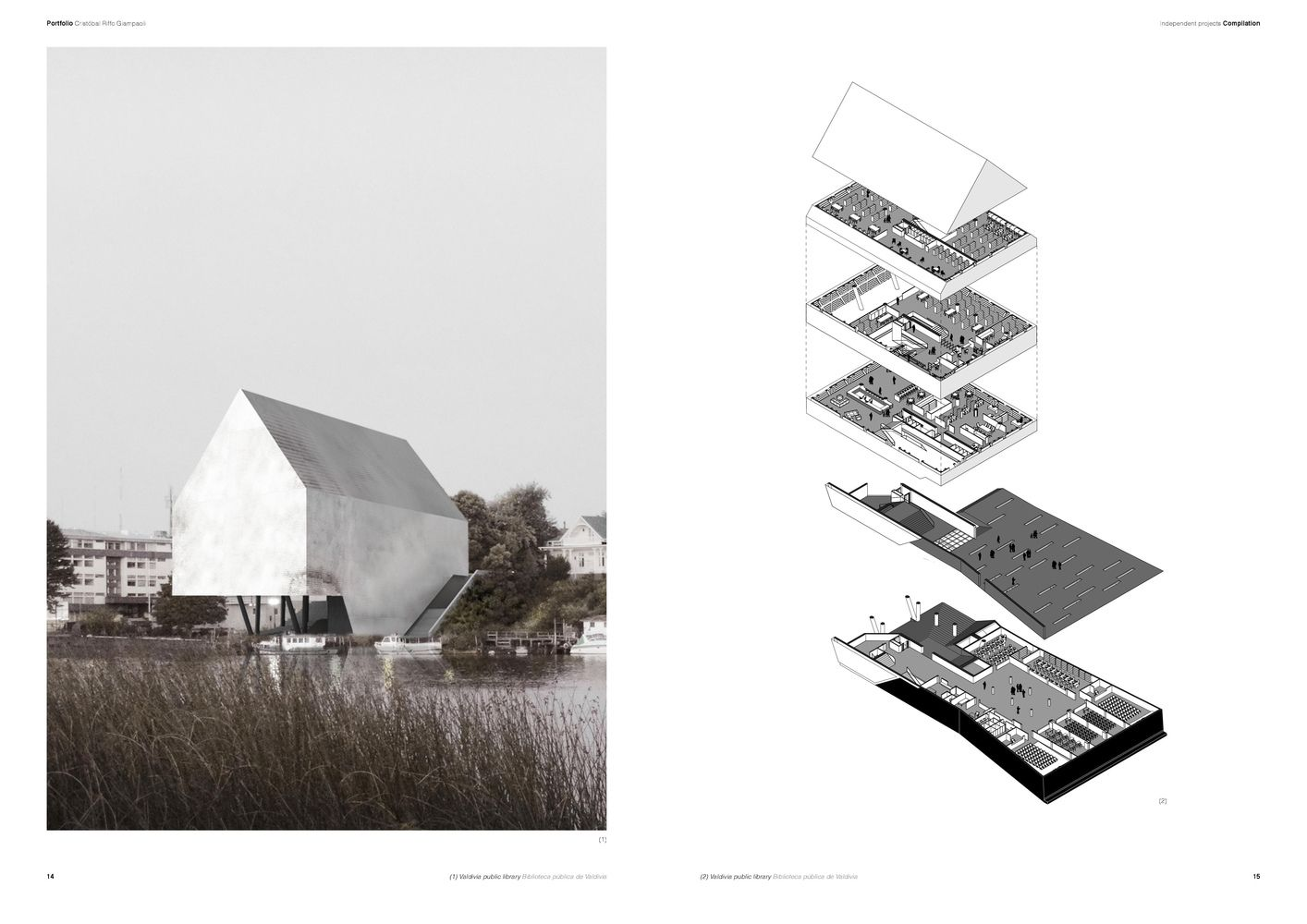 Gallery of the best architecture portfolio designs 15 for Architectural portfolio ideas