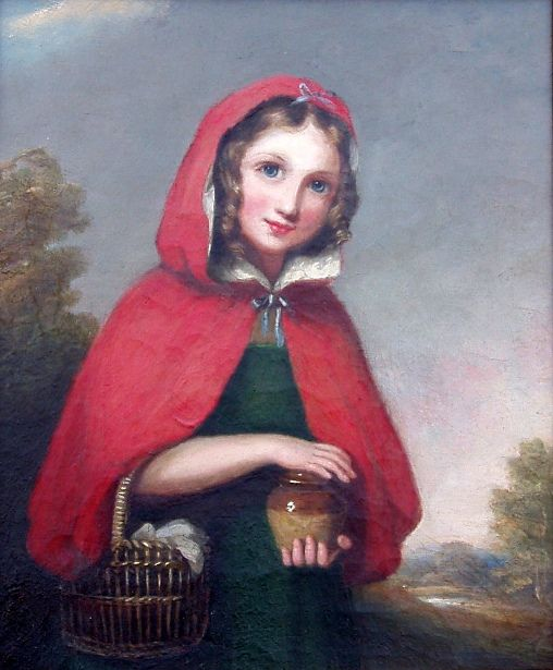 Girl In A Red Cape - Little Red Riding Hood.«Жила-была маленькая, милая девочка. И кто, бывало, ни взглянет на неё, всем она нравилась, но больше всех её любила бабушка и готова была всё ей отдать. Вот подарила она ей однажды из красного бархата шаперон, и оттого что шаперон этот был ей очень к лицу и никакой другой она носить не хотела, прозвали её Красной Шапочкой…»