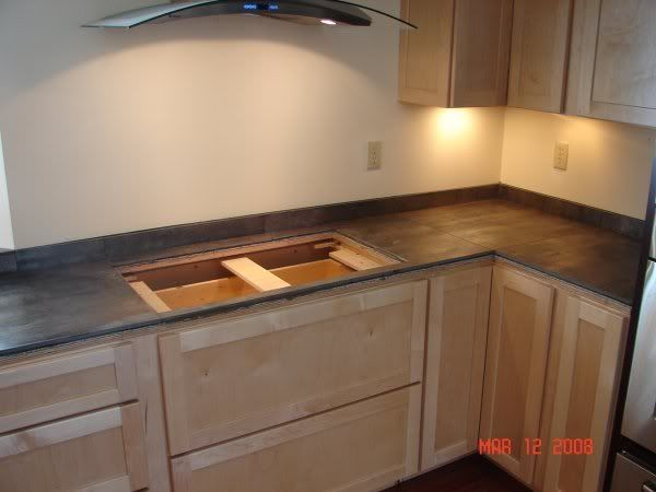 Would Porcelain Tile That Looks Like Wood Make A Good Countertop