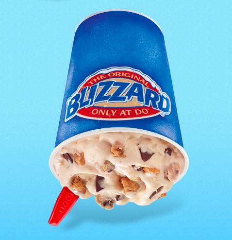 Can You Guess Which Blizzard From Dairy Queen Has The Most Calories