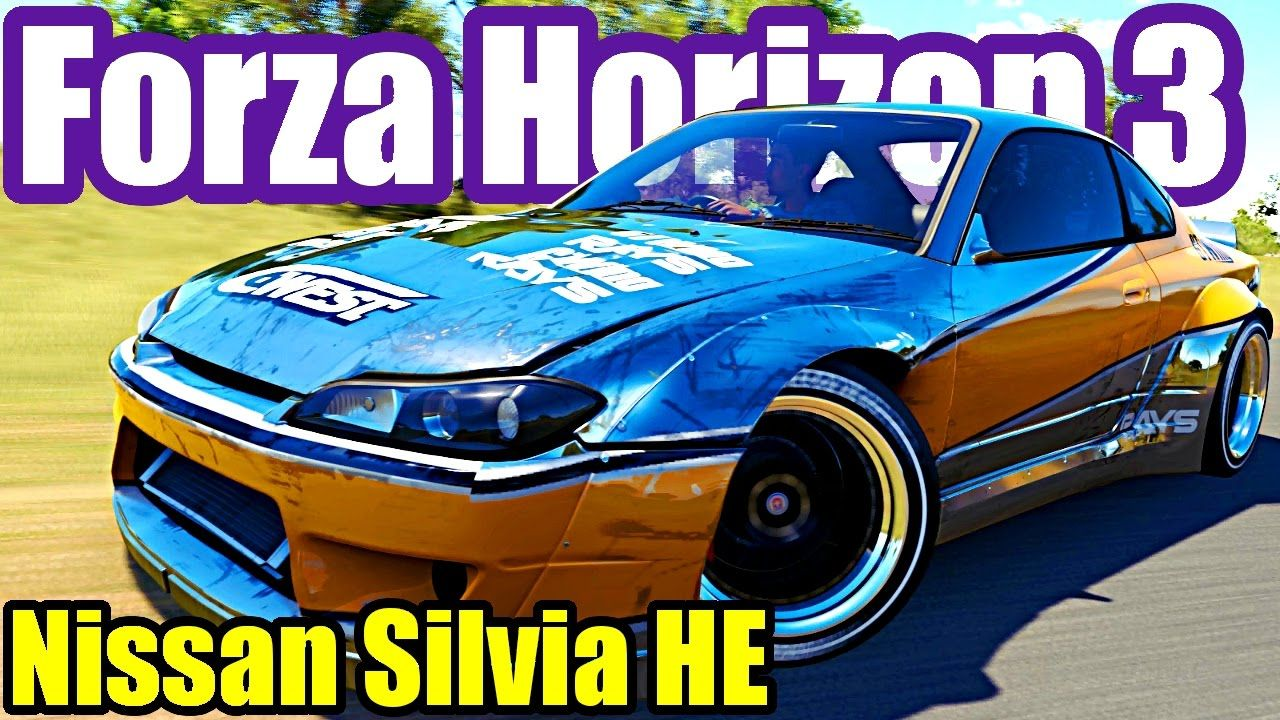 Nissan Silvia Horizon Edition Rwd Vs Awd Forza Horizon