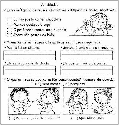Tipos De Frases Gramatica Ling Portug 2 Jpg 382 400