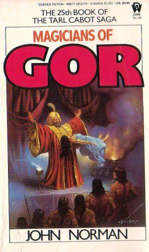 Gor Book Cover Art : John norman magicians of gor ken w kelly jun a k