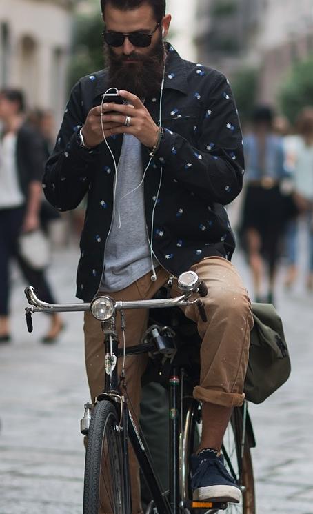 Bike Wear Jenggot Pria Giyim