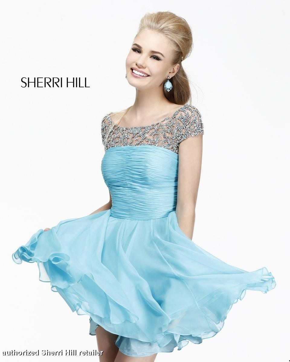 Sherri Hill Homecoming Dresses - Sherri Hill 11039 Short with ...