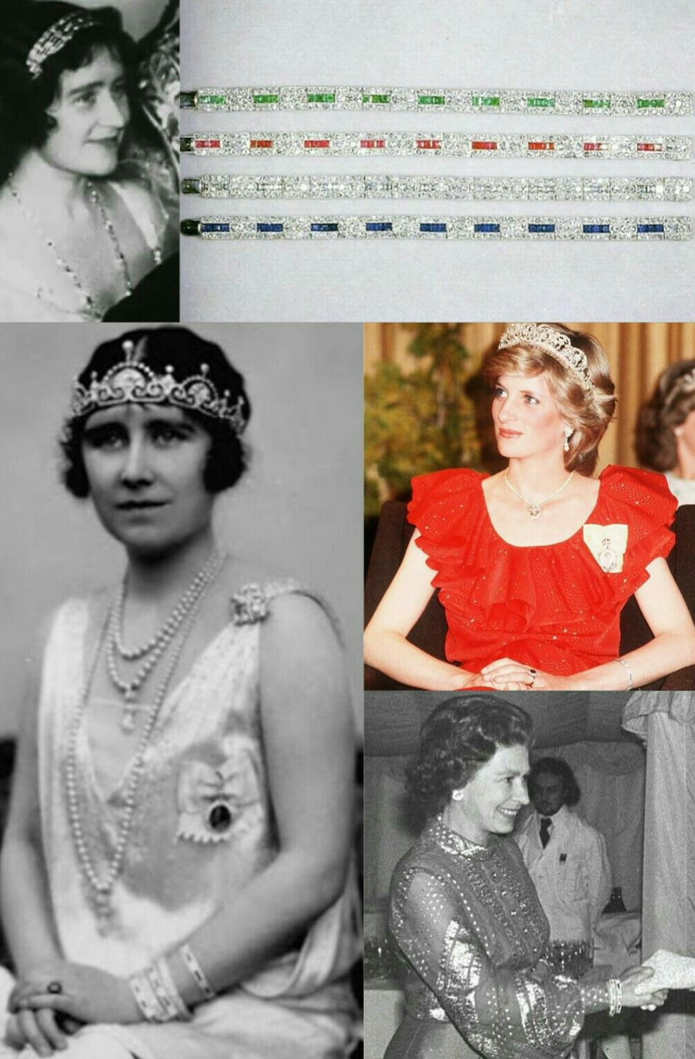 Pulceras Tiara Cartier Lady Elizabeth Bowes Lyon Reina Elizabeth Del Reino Unido Reina Elizabeth Ii Del Reino Queen Elizabeth Jewels Royal Jewels Royal Tiaras
