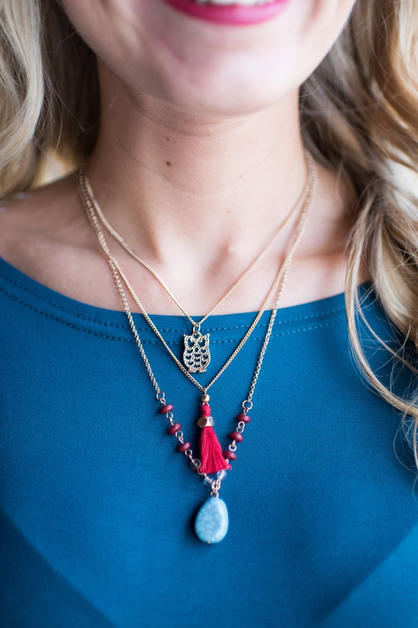 Pink Slate Boutique - Wise One Necklace, $15.00 (http://www.pinkslateboutique.com/wise-one-necklace/)