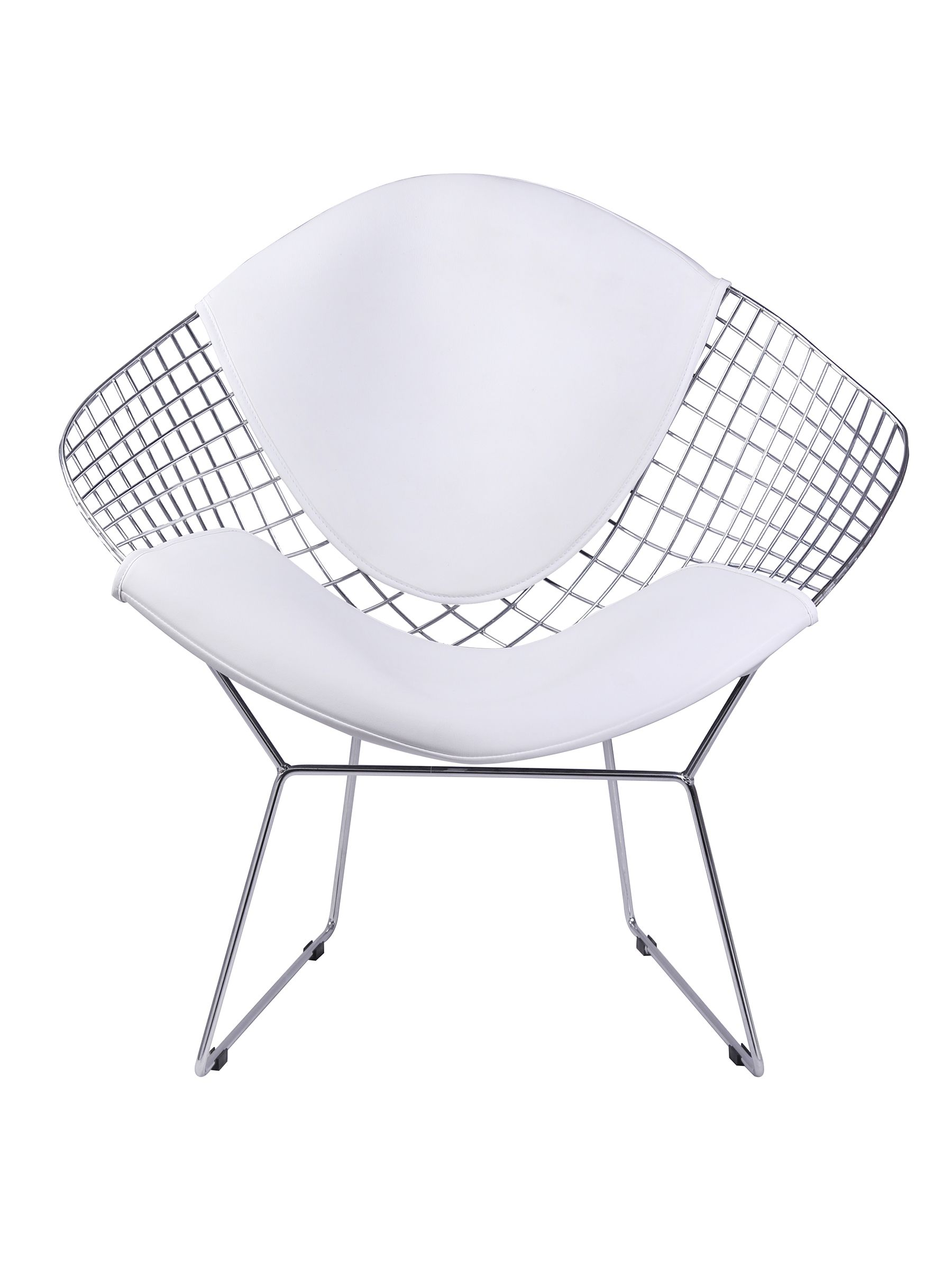 Davy Metal Chair in Chrome Description: Chrome Steel - NPD  Comfy