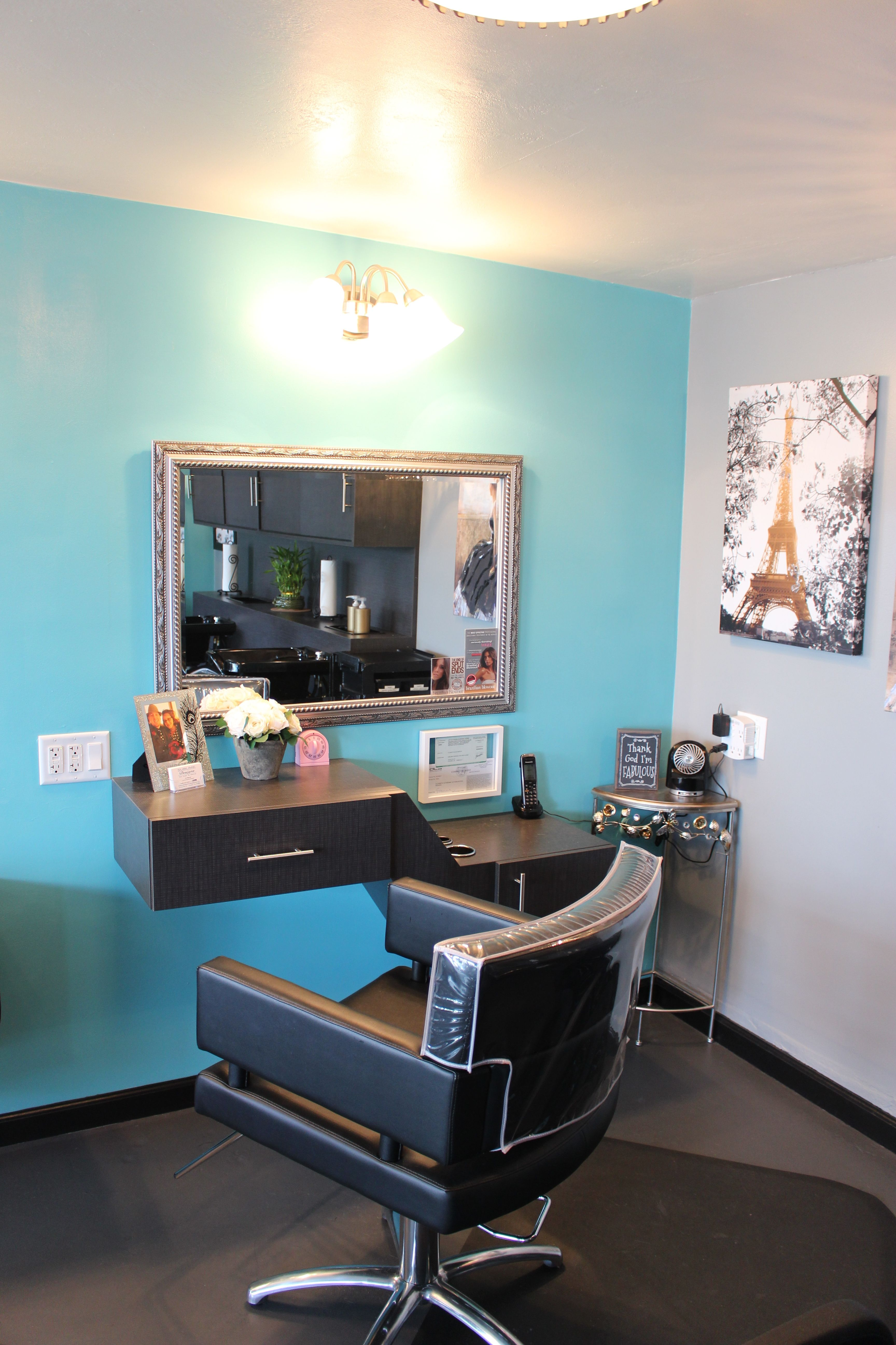 Perfect A Beautiful Hair Station At Sublime Designs For Hair U0026 Home Located In  Yucaipa, California
