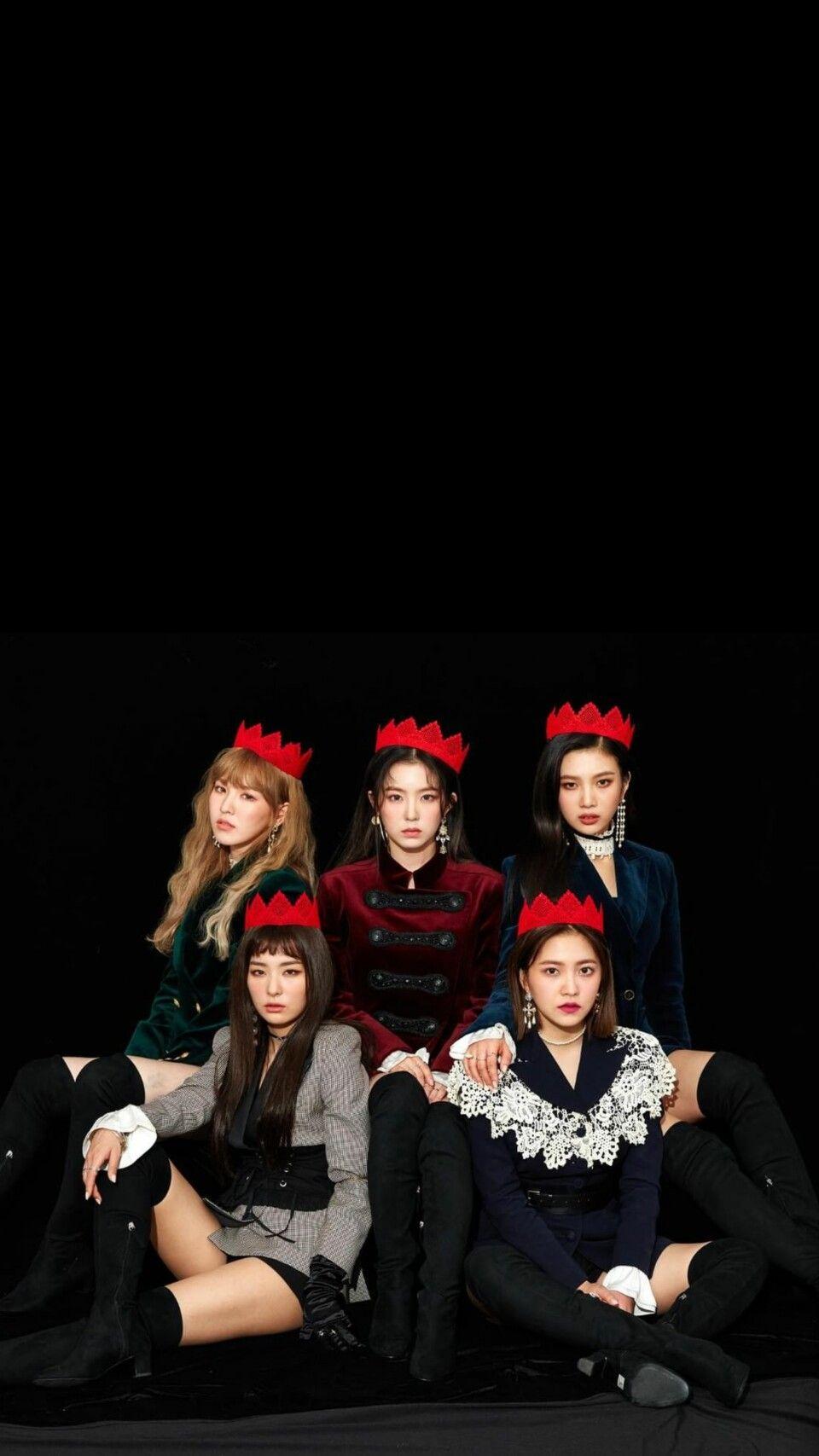 Red Velvet Background Wallpaper Lockscreen Perfectvelvet Peekaboo