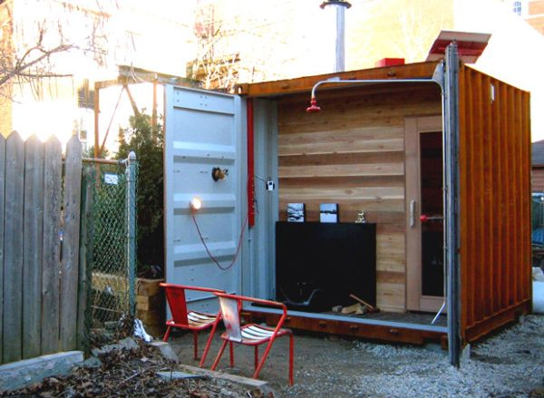 9 amazing ways to use a shipping container Sauna design