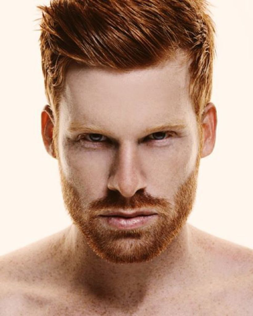 Edgy Haircuts With Redhead Hot Ginger Men Ginger Men Beard No Mustache