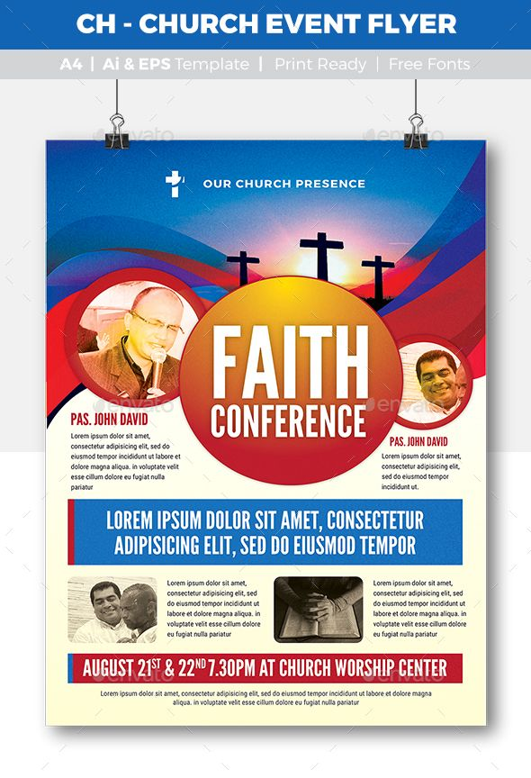 ch church event flyer vector eps professional modern available here httpsgraphicrivernetitemch church event flyer16991713refpxcr