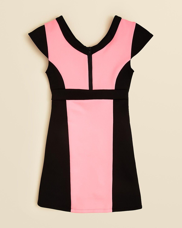 Sally Miller Girls Neon Scuba Dress - Sizes S-XL | Bloomingdales ...